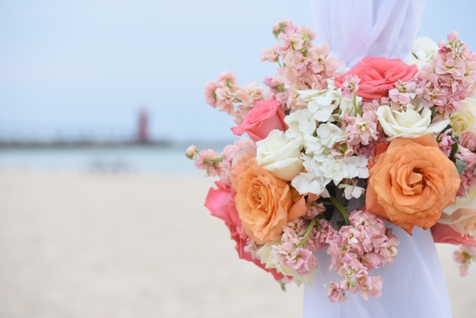 beach wedding south haven