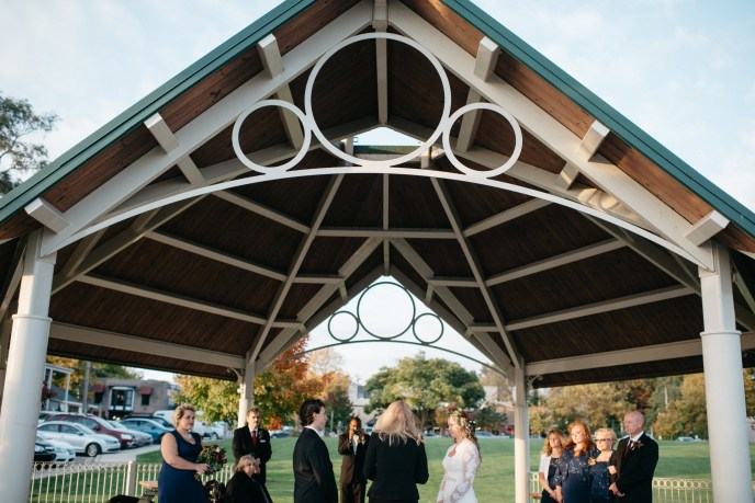 simple wedding in the park, where to elope in michigan, coghlin park