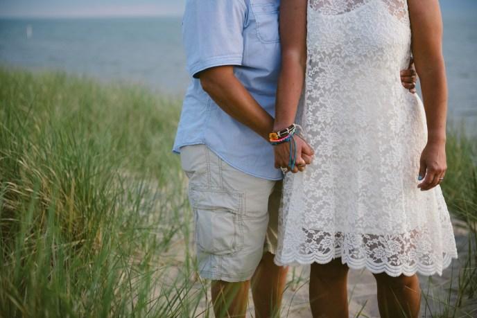 elope in michigan, wedding on the beach