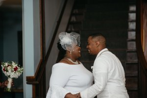 eloping in michigan, simple wedding in douglas done by our saugatuck wedding planner