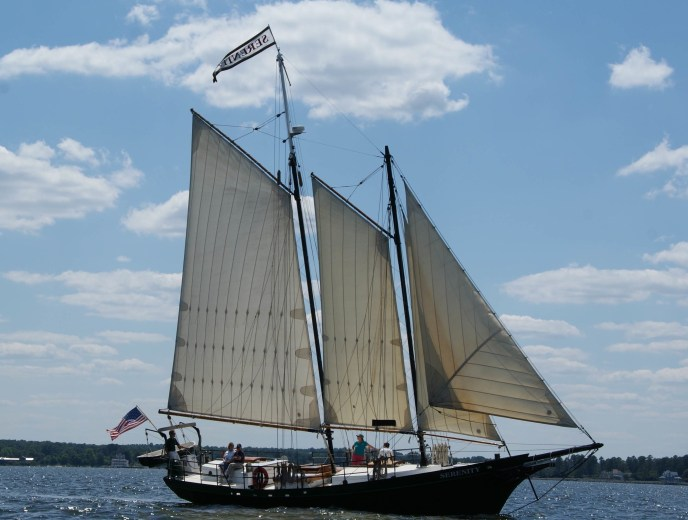 Schooner Serenity weddings cruise on Lake Michigan sailing in saugatuck