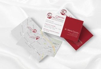 Business cards - cabinet medical