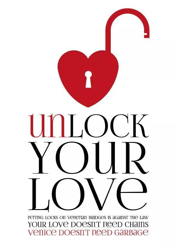 Unlock your love campaign flyer