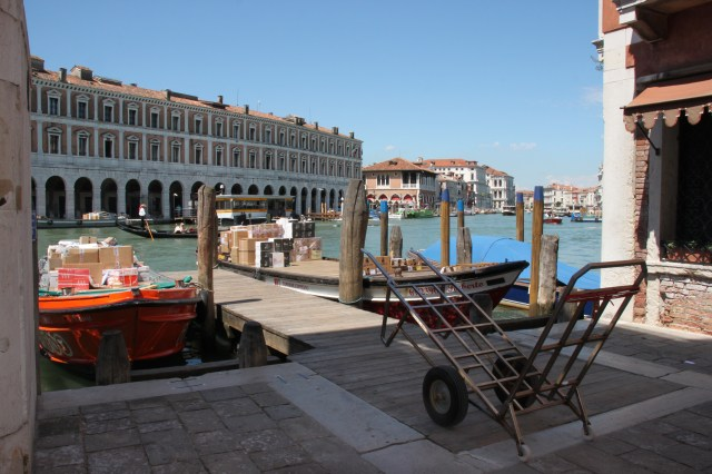 Grand Canal view from Campo Del Remer, Venice