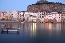 The old Sicilian fishing village of Cefalù makes a beautiful spot for romance