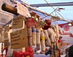 Truffle salami and sausages