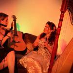 Tracy talks to comedy harpist Ursula Burns