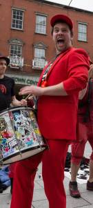 Matt Vernon of Beat Carnival's BEATnDRUM Samba Band