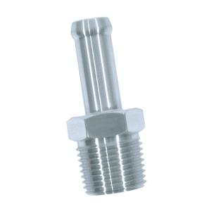 "Performance Stainless Steel 3/8"" Hose Fitting - 3/8"" NPT"