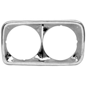 Chrome Headlight Bezels - 69-72 GMC Pickup