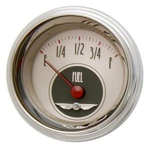 "Classic Instruments All American Nickel - 2-1/8"" Fuel Gauge"