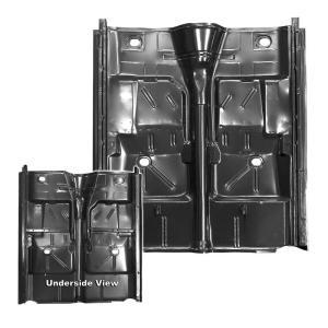 Complete Floor Pan w/ Rocker Panels - 62-67 Nova