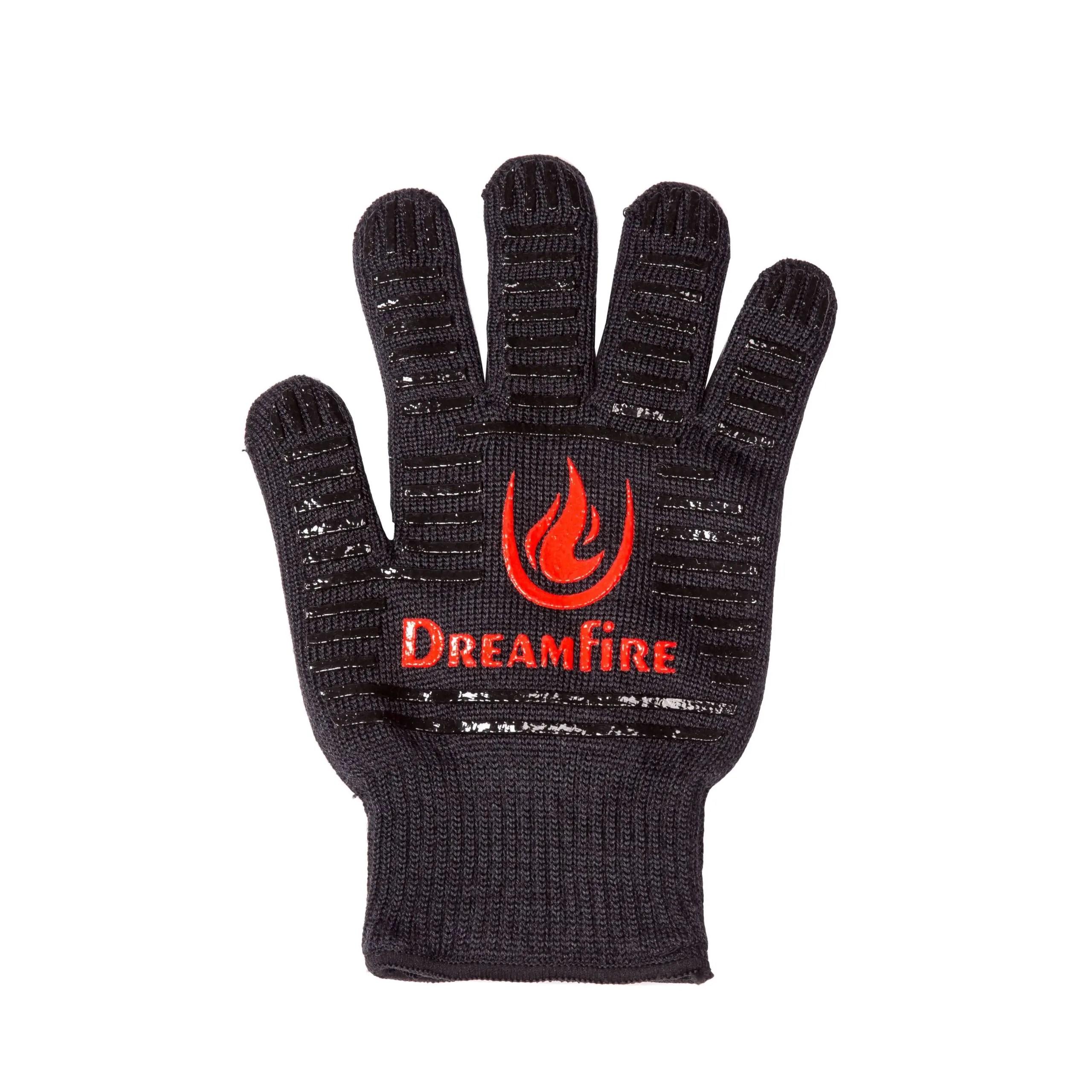 Dreamfire heat resistant grilling glove