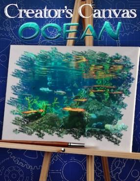 Creator's Canvas Ocean Poster