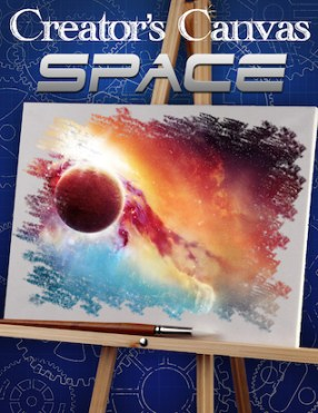 Creator's Canvas Space Poster