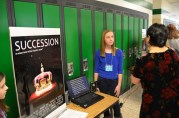 Students proudly share their expertise about the mission scenarios.