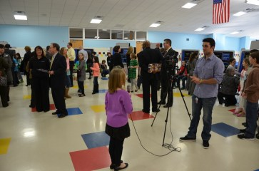 Local students were interviewed about their mission experiences.