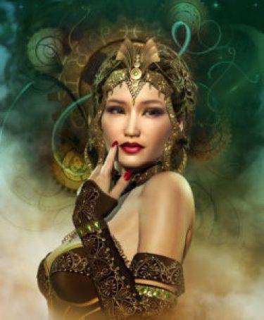 asian woman mystic