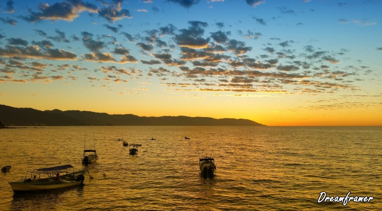 Sunset in Puerto Vallarta - ©Dreamframer