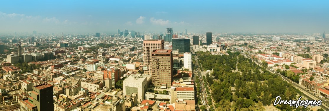 Mexico City Panorama - ©Dreamframer