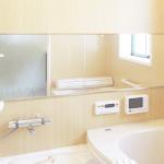 お風呂の鏡 くもりの原因は水垢! お風呂の鏡 水垢落としは酸の力で !
