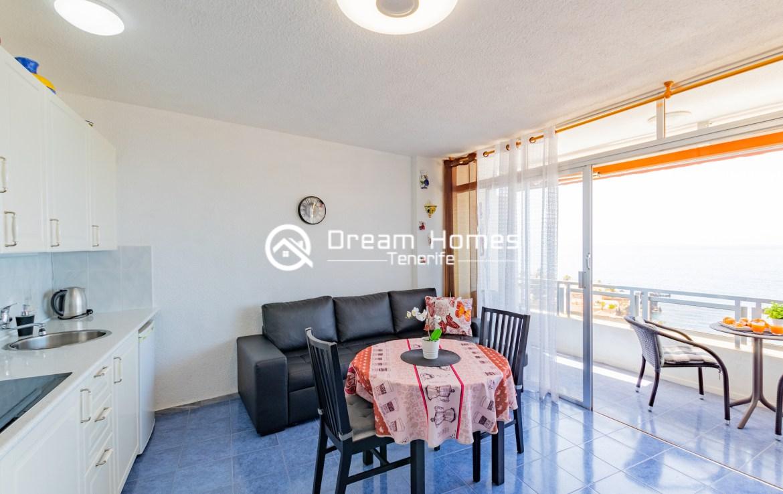 Arenas Negras One Bedroom Apartment, Puerto de Santiago Living Room Real Estate Dream Homes Tenerife