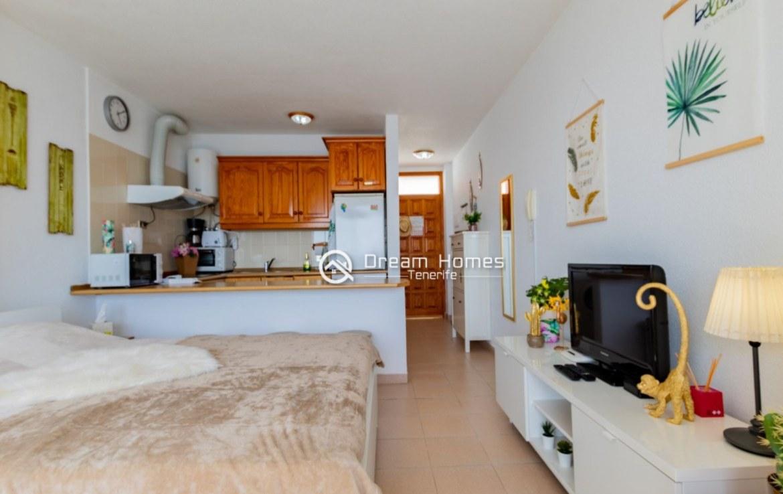 Santiago Beach Studio Apartment, Puerto de Santiago Living Room Real Estate Dream Homes Tenerife