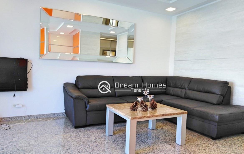 Hibisco I Two Bedroom Apartment, Los Gigantes Living Room Real Estate Dream Homes Tenerife