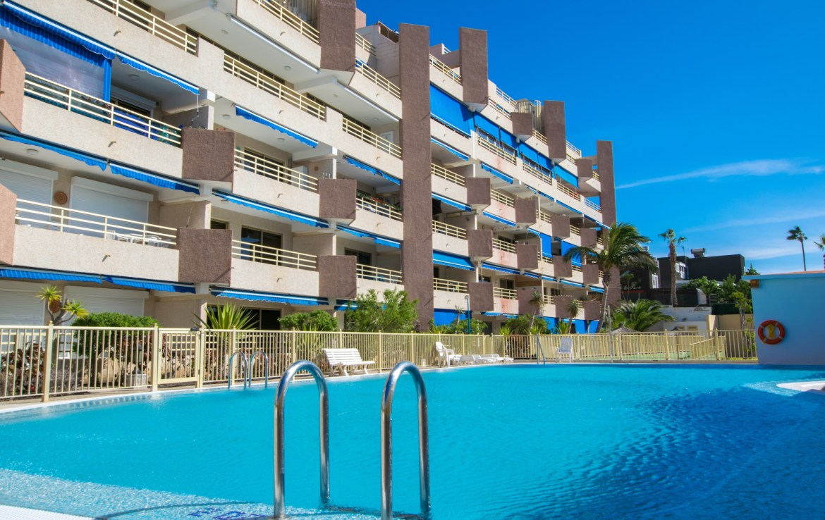 For Holiday Rent Two Bedroom Apartment in Puerto de Santiago Swimming Pool Estate Dream Homes Tenerife