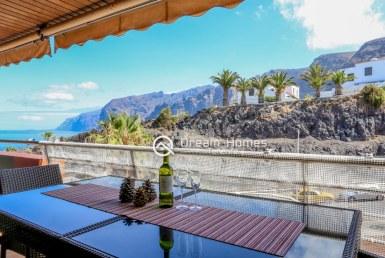 Balcon Gigantes I Two Bedroom Apartment, Puerto de Santiago Terrace Real Estate Dream Homes Tenerife