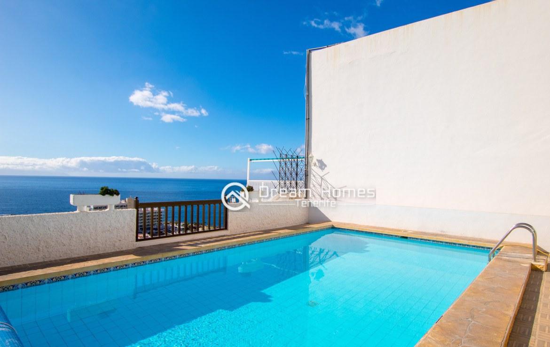 Casablanca Two Bedroom Apartment, Los Gigantes Swimming Pool Real Estate Dream Homes Tenerife