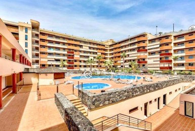 For Sale One Bedroom Apartment in Balcon Los Gigantes with Large Terrace Swimming Pool Real Estate Dream Homes Tenerife