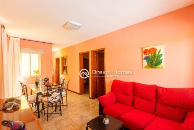 Canarian Style Holiday Home for Rent in Puerto de Santiago Living Room Real Estate Dream Homes Tenerife