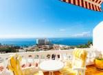 For Sale Two Bedroom Apartment Terrace Ocean View Puerto de Santiago1