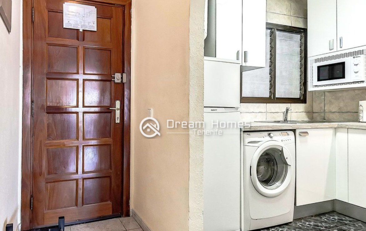Great Two Bedroom Apartment for sale in Los Cristianos Kitchen Real Estate Dream Homes Tenerife
