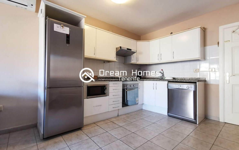 Lovely Apartment for rent in Puerto de Santiago Kitchen Real Estate Dream Homes Tenerife