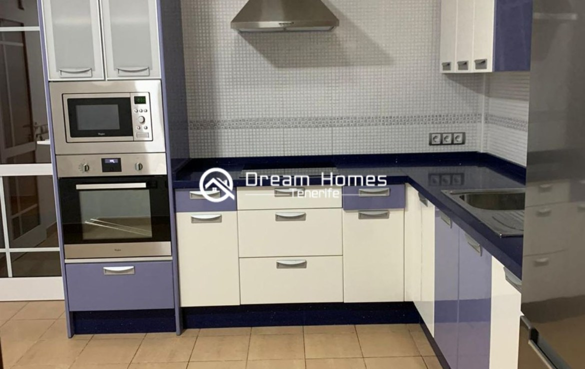 Lovely Family Home in Costa Adeje Kitchen Real Estate Dream Homes Tenerife