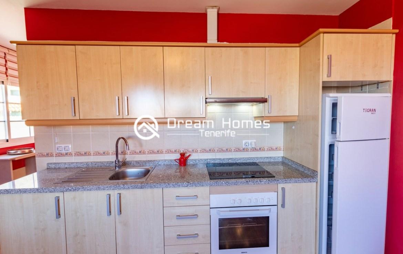 One Bedroom Apartment in Santiago del Teide Kitchen Real Estate Dreams Homes Tenerife