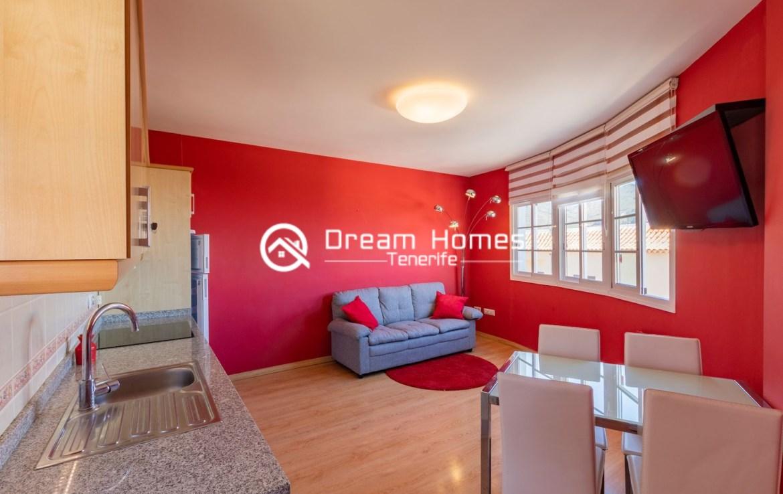One Bedroom Apartment in Santiago del Teide Living Room Real Estate Dreams Homes Tenerife
