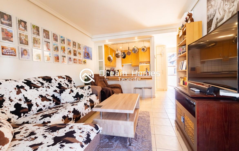 Spacious Aparment for Rent in Puerto de Santiago Living Room Real Estate Dream Homes Tenerife