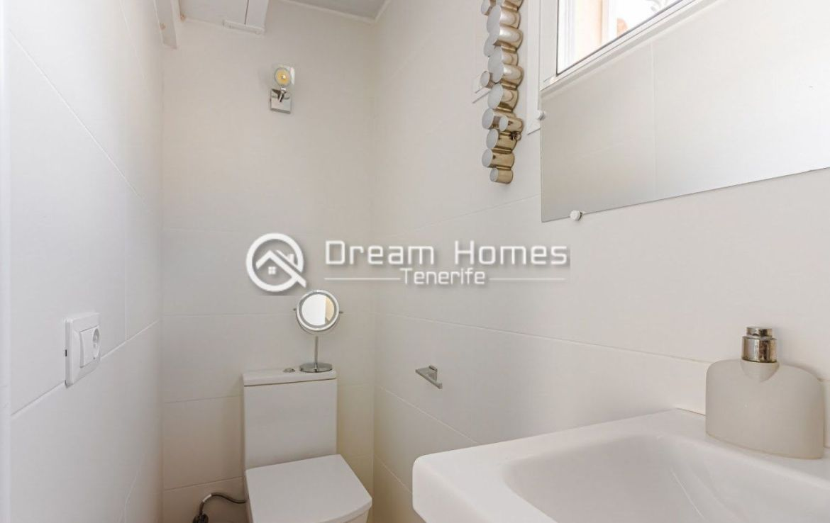 Spectacular View Penthouse in Roque del Conde Bathroom Real Estate Dream Homes Tenerife