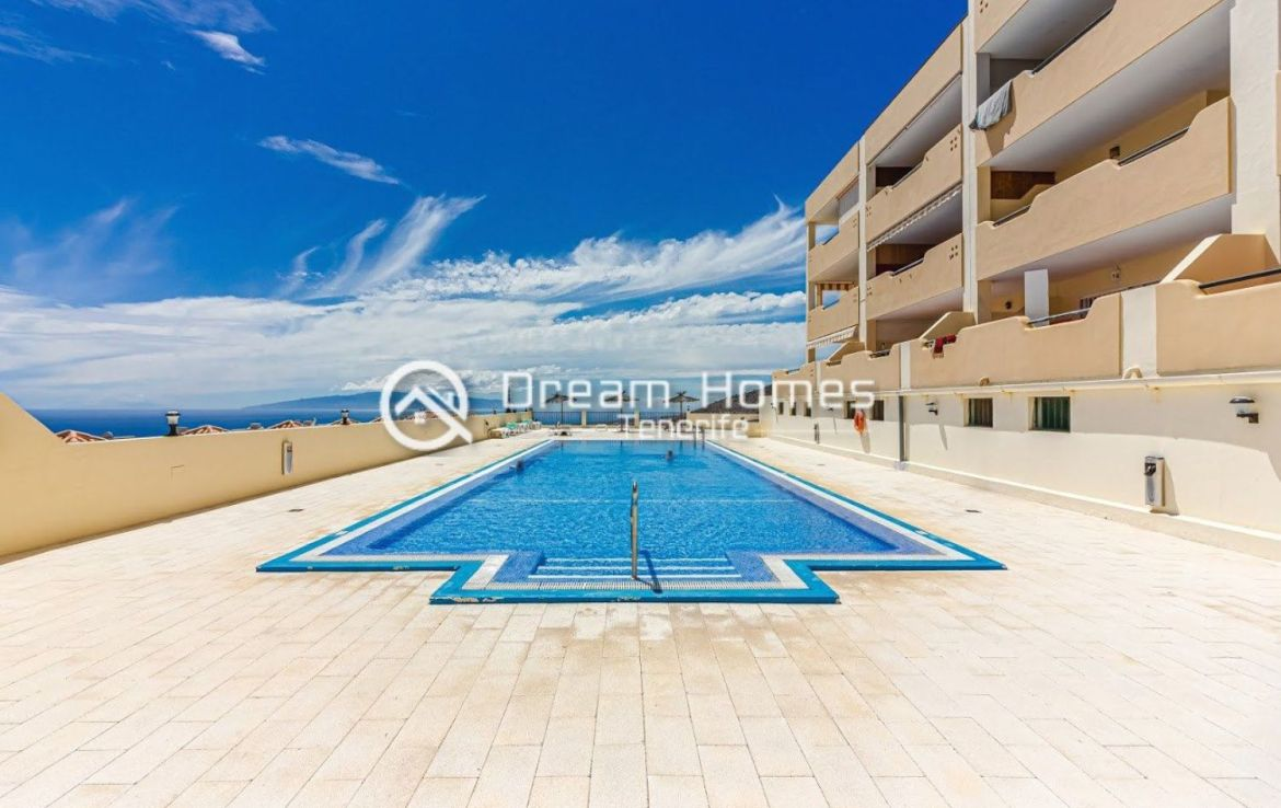 Spectacular View Penthouse in Roque del Conde Pool Real Estate Dream Homes Tenerife
