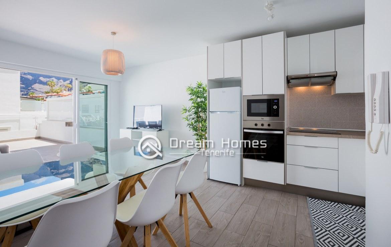 Modern Apartment in Concanasa Los Gigantes Dining Area Real Estate Dream Homes Tenerife