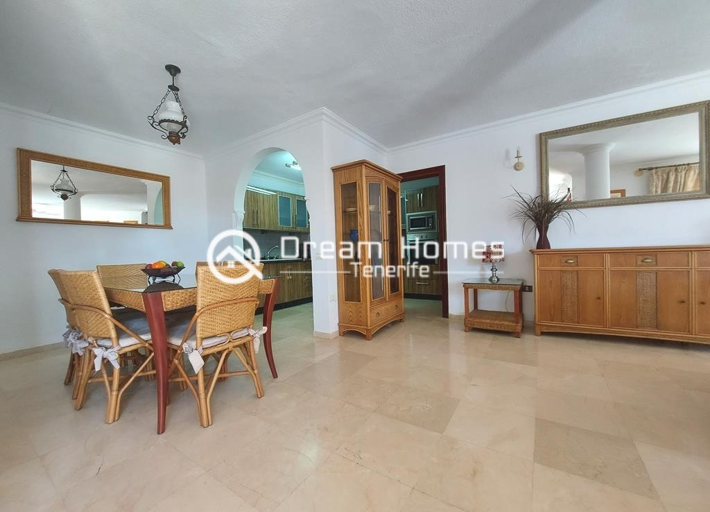 Luxury Boutique Style 3 Bedroom Villa in Los Gigantes Dining Area Real Estate Dream Homes Tenerife