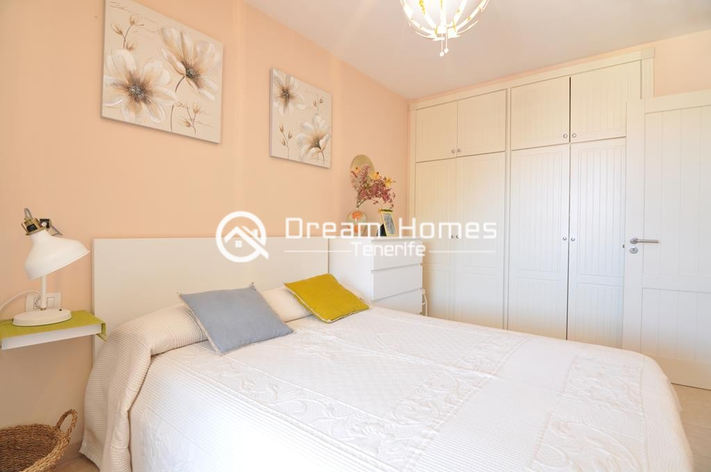 Modern One Bedroom Apartment with Pool Bedroom Real Estate Dream Homes Tenerife