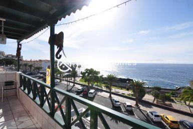 Top Floor One Bedroom Apartment in Front of the Ocean Terrace Real Estate Dream Homes Tenerife