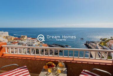 Cozy Fantastic View Apartment in Puerto de Santiago Terrace Real Estate Dream Homes Tenerife
