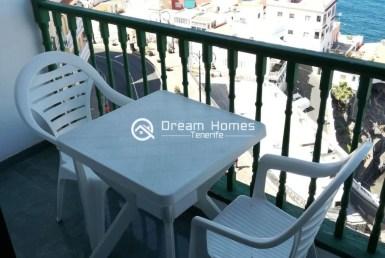 Fantastic View Studio in Puerto de Santiago Terrace Real Estate Dream Homes Tenerife
