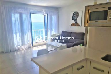 First Line Oceanview Apartment Living Room Real Estate Dream Homes Tenerife