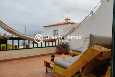 Oceanview Duplex in Puerto de Santiago Terrace Real Estate Dream Homes Tenerife